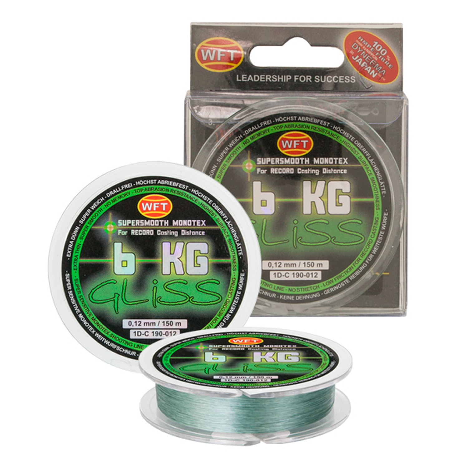 WFT Gliss Monotex Green 0.10 150