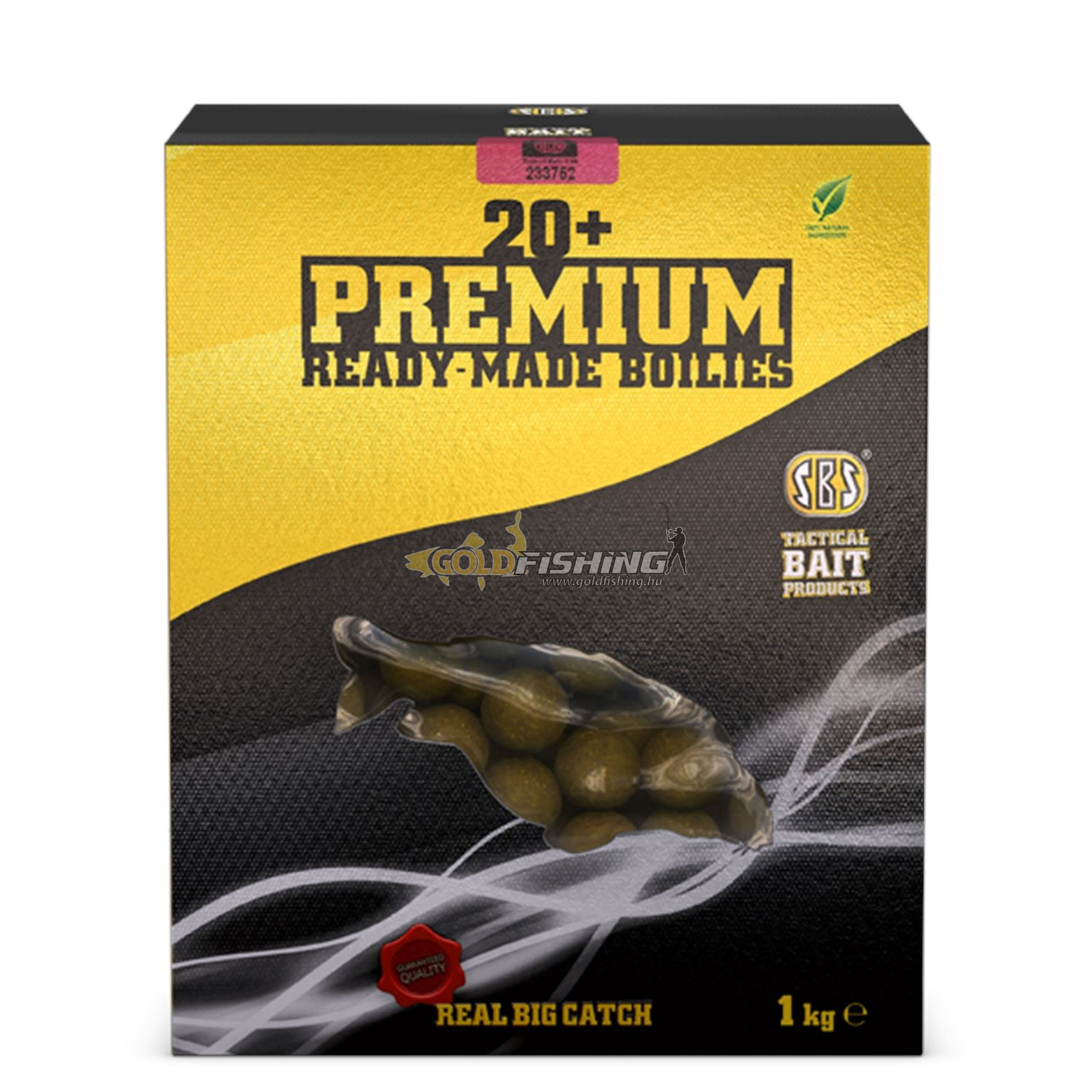 20+ Premium Ready-Made Boilies - Krill & Halibut