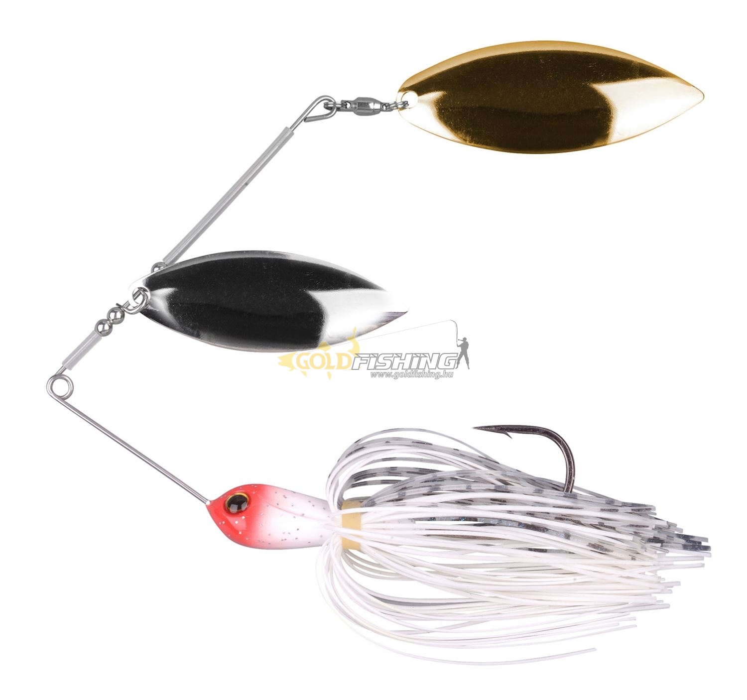 ringed spinnerbait 21 - Red Head