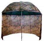 Terepszínű sátras PVC horgászernyő 250