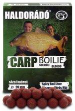 Carp Boilie Soluble -  Fűszeres Vörös Máj