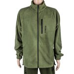 ATLAS ZIP FLEECE    S - GREEN