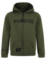 CORE KIDS ZIP HOODY - GREEN (AGE  5-6)