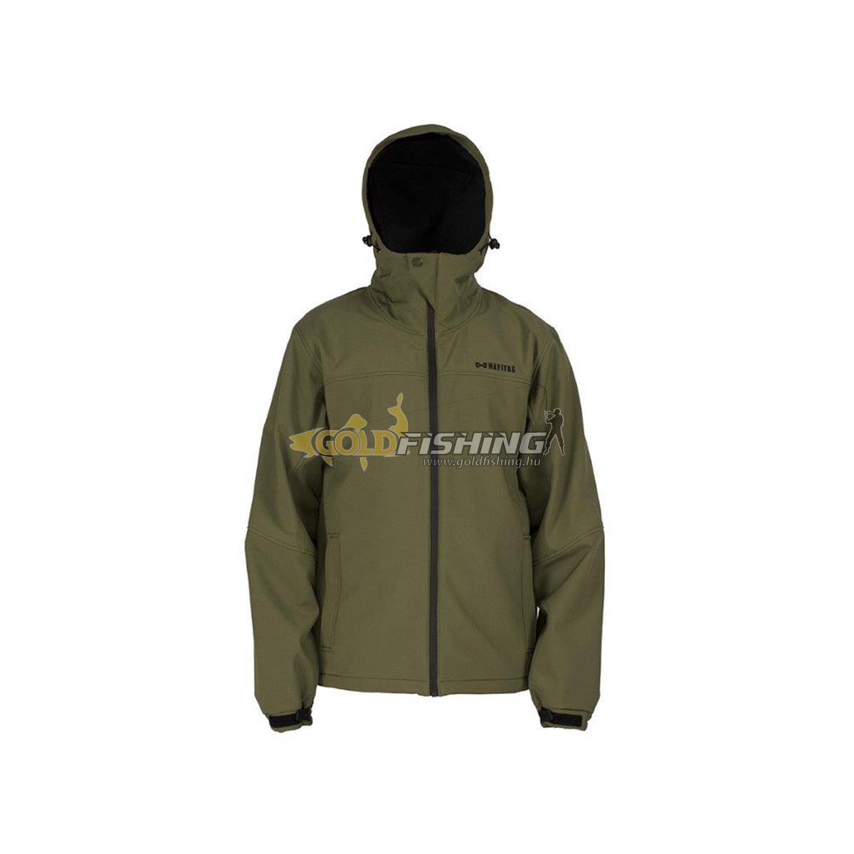 NAVITAS, HOODED SOFT SHELL 2.0 JACKET  M - GREEN