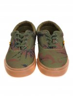 LO DOWN CAMO LACE UP TRAINERS 42