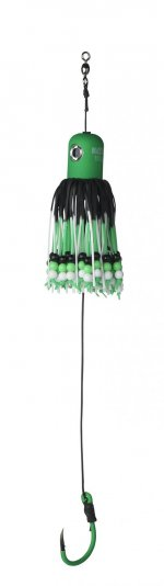 A-STATIC ADJUSTABLE CLONK TEASER 200 - GREEN