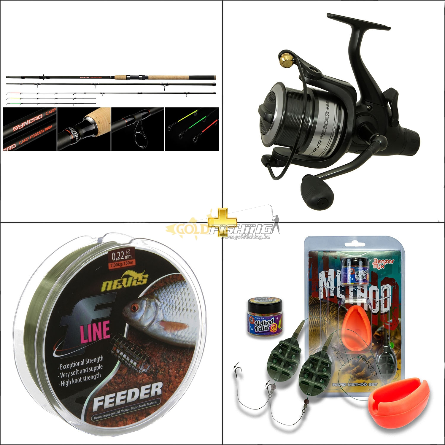 GOLDFISHING, Start profi method szett